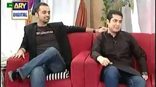 Good morning pakistan - 1st Oct 2013 - Iqrar ul Hassan, Waseem Badami Part 3