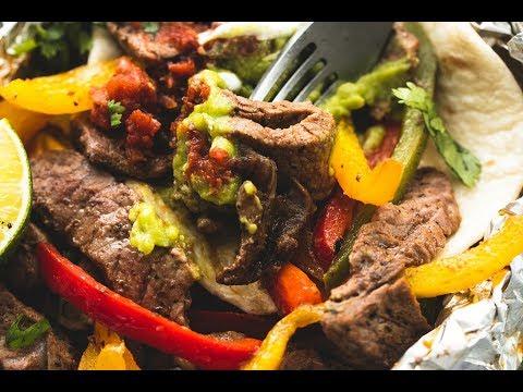 Steak Fajita Foil Packs
