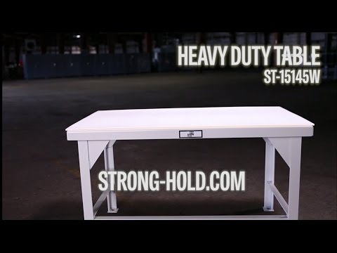 Strong Hold Products Heavy Duty Table (ST-15145W)