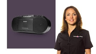 Sony CFD-S70 FM/AM Boombox - Black | Product Overview | Currys PC World