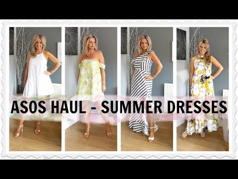 ASOS HAUL(and SheIn) - SUMMER DRESSES (2017) | SUMMER FASHION WEEK Pt 3 👗👜👠