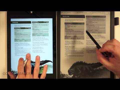 Sony DPT-S1 vs Microsoft Surface Pro 3 - PDF Editing and Viewing