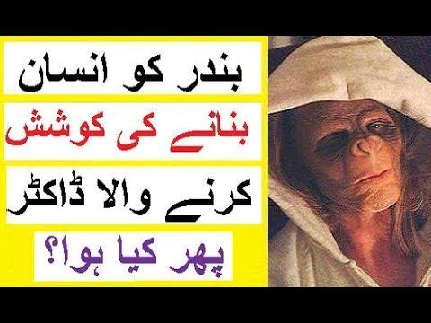 Bandar Ko Insan Bananay Ki Koshish - Story of a Scientist