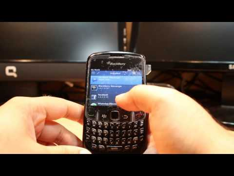 Facebook messenger install to Blackberry curve 8520