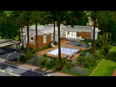 The Sims 3 - Cerdena House Building Process