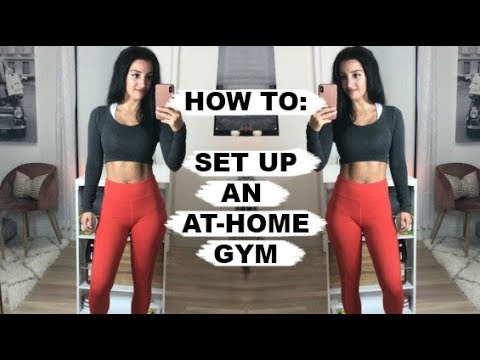 How To: Set Up an At-Home Gym + Giveaway!