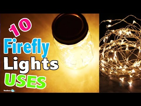 10 LED Light Uses with Fairy Firefly String Lights