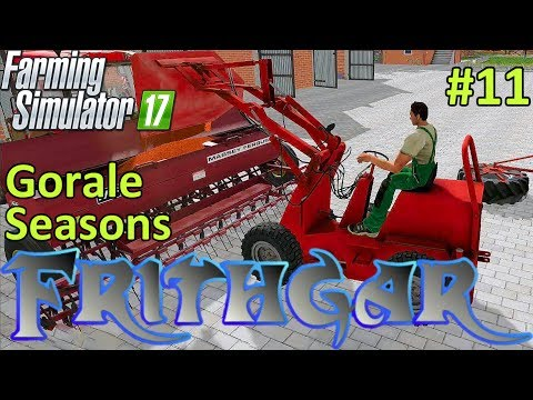 Let's Play Farming Simulator 2017, Gorale With Seasons #11: Seed Drills!