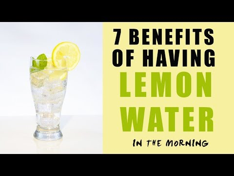 7 Benefits Of Having Lemon Water In The Morning