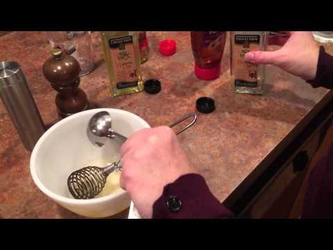 Rice Vinegar/Walnut Oil Vinaigrette