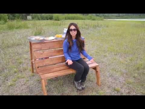 How to Build Outdoor Firepit Benches with Countertops and Storage Areas