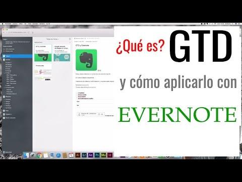 GTD y Evernote | Organiza tu vida y tu trabajo | KTX180 | Tutorial