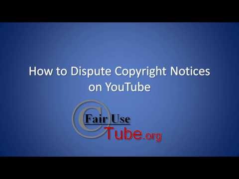 Copyright Tutorial: Dispute Content ID Matches (Outdated)