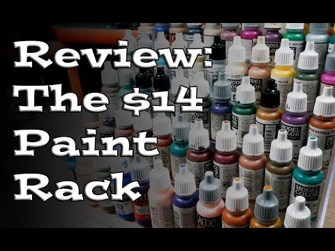 Review: The $14 Hobby Paint Rack