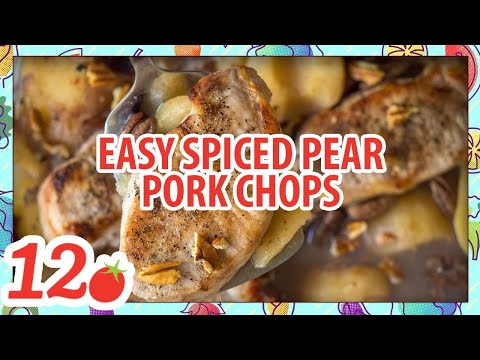 How to Make: Easy Spice Pear Pork Chops
