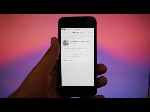How to install iOS 11 Beta 1 without UDID Registration No computer FREE