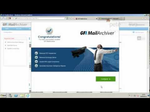 Deploying GFI MailArchiver with Exchange 2010