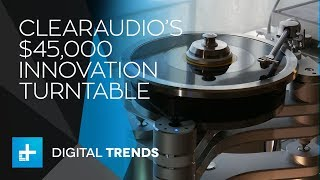 Clearaudio Innovation Turntable - Hands On at CES 2018
