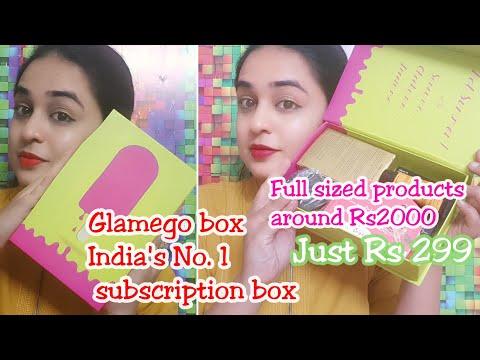 Glamego April 2018 edition unboxing