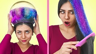 13 Easy Hairstyles And Hair Hacks!