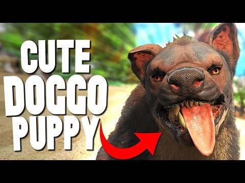 TAMEABLE DOGS and PUPPIES in ARK!