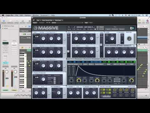 Massive Tutorial: Borgore - Why Does It Feel Pluck Synth