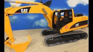 Download BRUDER kepçe ekskavatör çocuk oyuncakları ekskavatör CAT 02438 İngilizce Video
