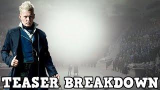 Fantastic Beasts The Crimes of Grindelwald - Grindelwald and Queenie Teaser Breakdown