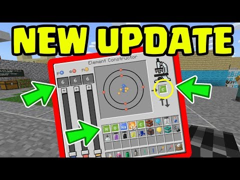 NEW Minecraft UPDATE with ALL NEW Chemistry FEATURES...