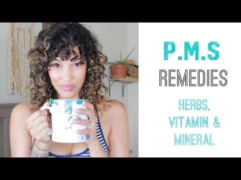 My P.M.S Symptoms Remedies - Herbal Supplements - Vitamin & Mineral