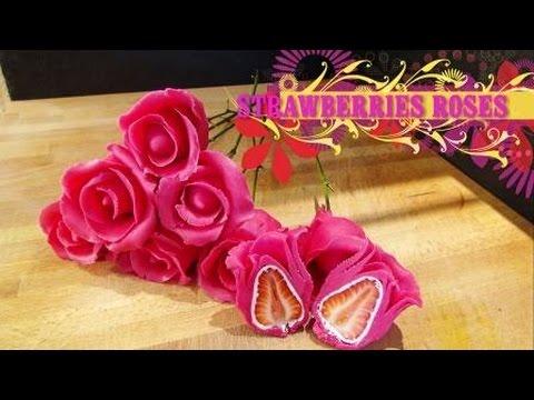 ROSES EN MASSEPAIN / MARZIPAN ROSES