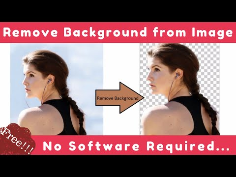 Remove Background From Image FREE | No Software Needed!