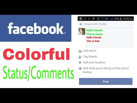 Make your Facebook comment colourful | make your Facebook comment unique  | as boy creation