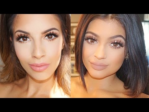 Everyday Kylie Jenner Inspired Make Up Tutorial