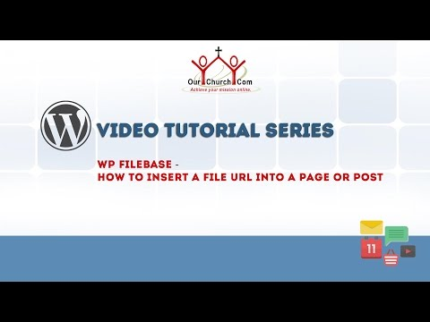 WP Filebase - How to insert a file url into a page or post