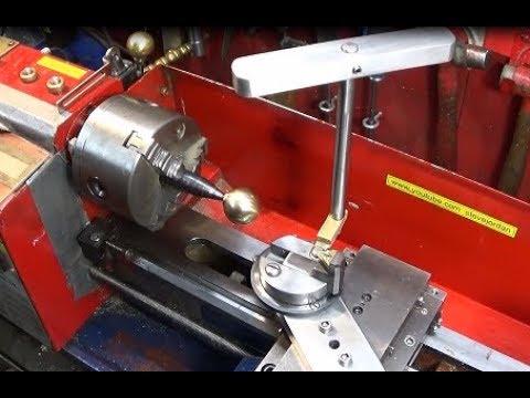 A few upgrades. A new Mini Lathe Ball Turning Tool & Diamond Sharpener
