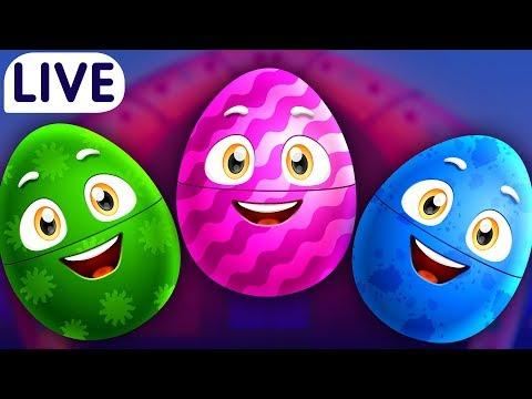 Xxx Mp4 ChuChuTV Surprise Eggs Old MacDonald Had A Farm Farm Animals Wild Animals Amp More For Kids LIVE 3gp Sex