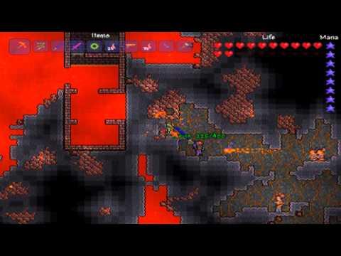 Terraria - Hellstone Mining Guide