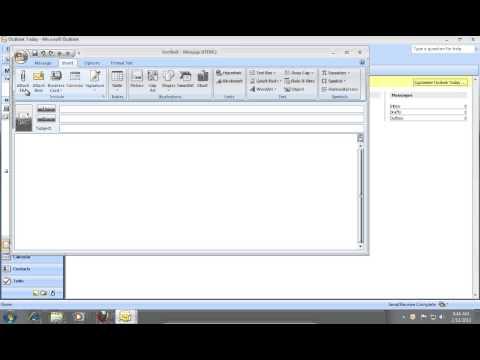 How to Send an Outlook 2007 vCard