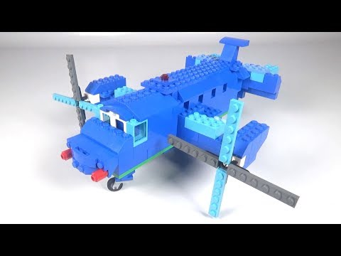 Lego Airplane (001) Building Instructions - LEGO Classic How To Build - DIY