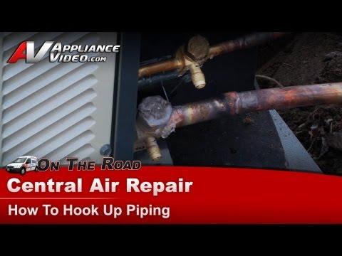 Central Air Conditioner Replacing  outdoor  Ton Condensing Unit