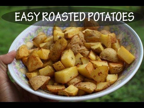 Easy Roasted Potatoes- Gluten Free & Vegan Recipe