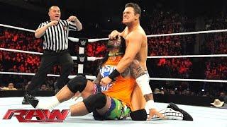 The Usos & Naomi vs. The Miz, Damien Mizdow & Alicia Fox: Raw, January 5, 2015