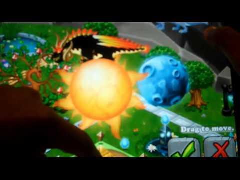 Dragonvale Solar Eclipse Dragon breeding + evoloution