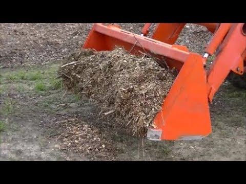 Breaking WOOD CHIPS # 2 RULE. Can I MIX Fresh Wood Chips in a Raised Gardening Bed ?
