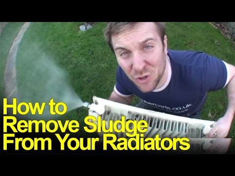 HOW TO REMOVE RADIATOR SLUDGE - Plumbing Tips