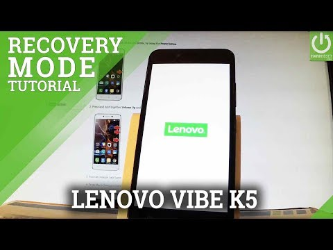 How to Open Recovery Mode in LENOVO Vibe K5 - Exit LENOVO Recovery