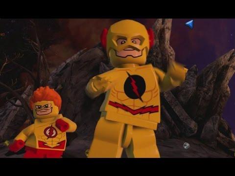 LEGO Batman 3 - Reverse Flash & Kid Flash (Unlock Location & Gameplay)