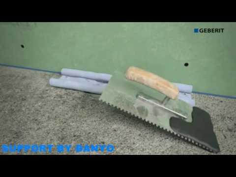 Geberit Clear Line Shower Channel Installation