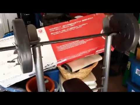 HOW-TO: Setup The Marcy Strength Bench Behind-The-Scenes VLOG #DawnofJusticeChallenge